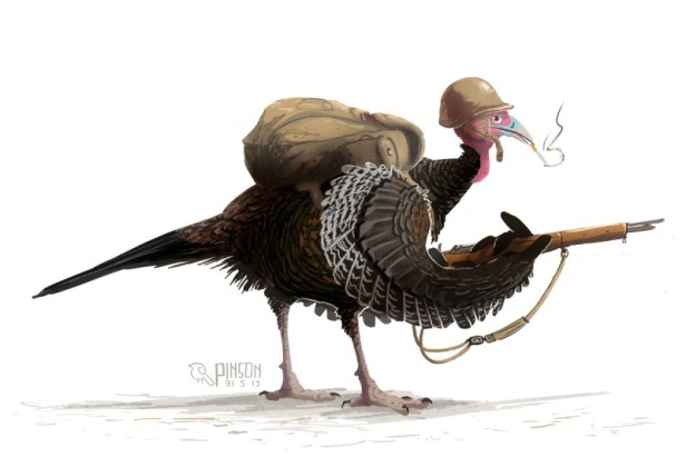 turkey soldier